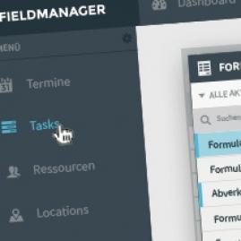 Field manager dialogfeld